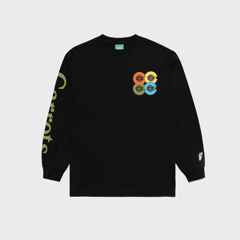 Carrots Carrots Incorporated LS Tee Black