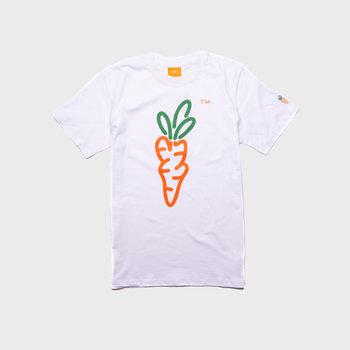 Carrots Signature SS Tee White