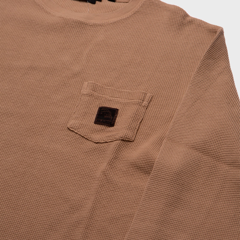 XLarge XLarge Brand Overdyed Thermal L/S