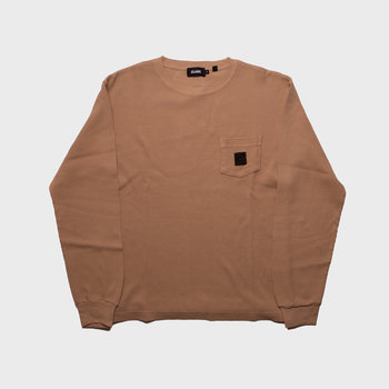 XLarge Overdyed Thermal L/S