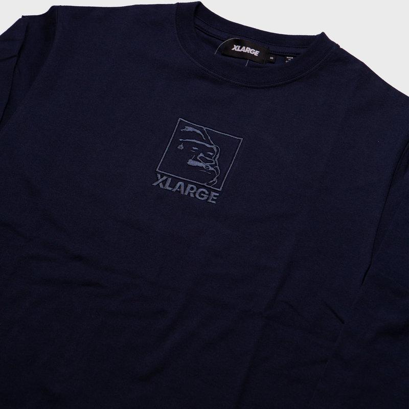 XLarge XLarge Brand Square OG Logo Navy