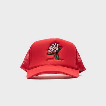 Rukus Magnolia Trucker Red
