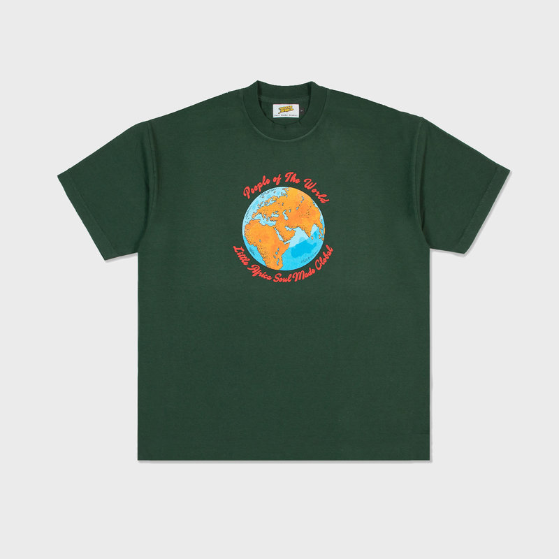 Little Africa Little Africa People of The World Tee Green