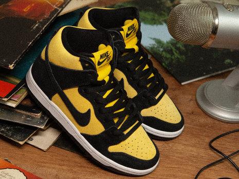 Nike SB Dunk High 'Reverse Goldenrod'