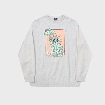 Helas Eiffel Knit Sweater Grey