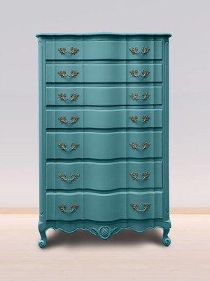 Autentico Vintage furniture paint, color Antique Turquoise