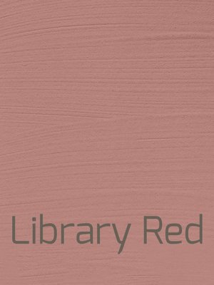 Autentico Vintage furniture paint, color Library Red