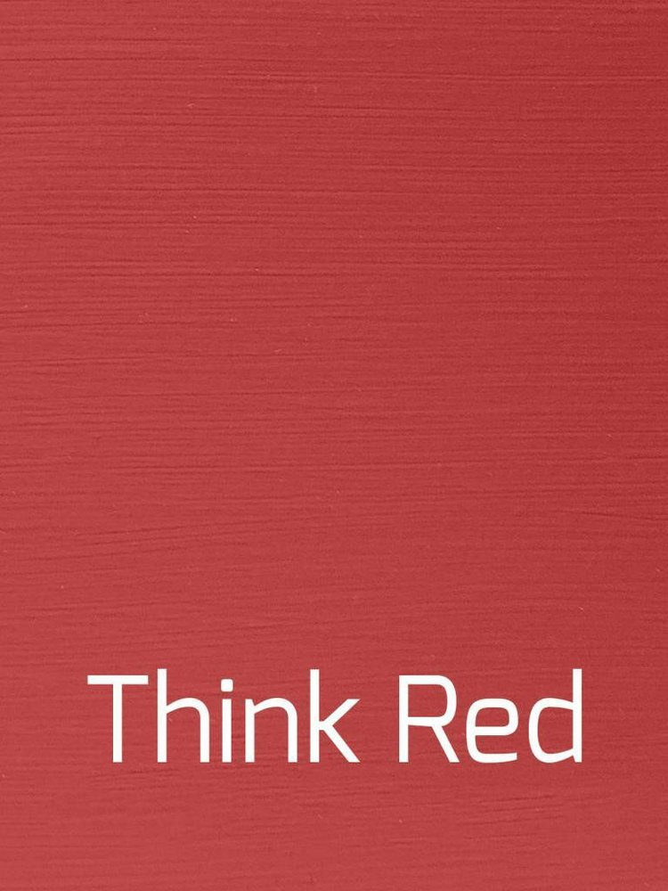 Autentico Vintage furniture paint, color Think Red