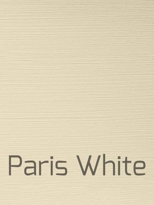 Versatile, washable paint for inside and outside, color Paris White