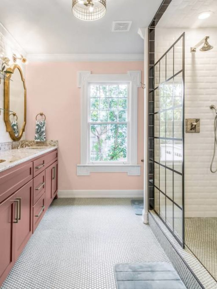 Versatile, washable paint for inside and outside, color Pink