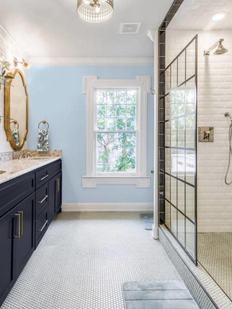 Versatile, washable paint for inside and outside, color Polar Blue