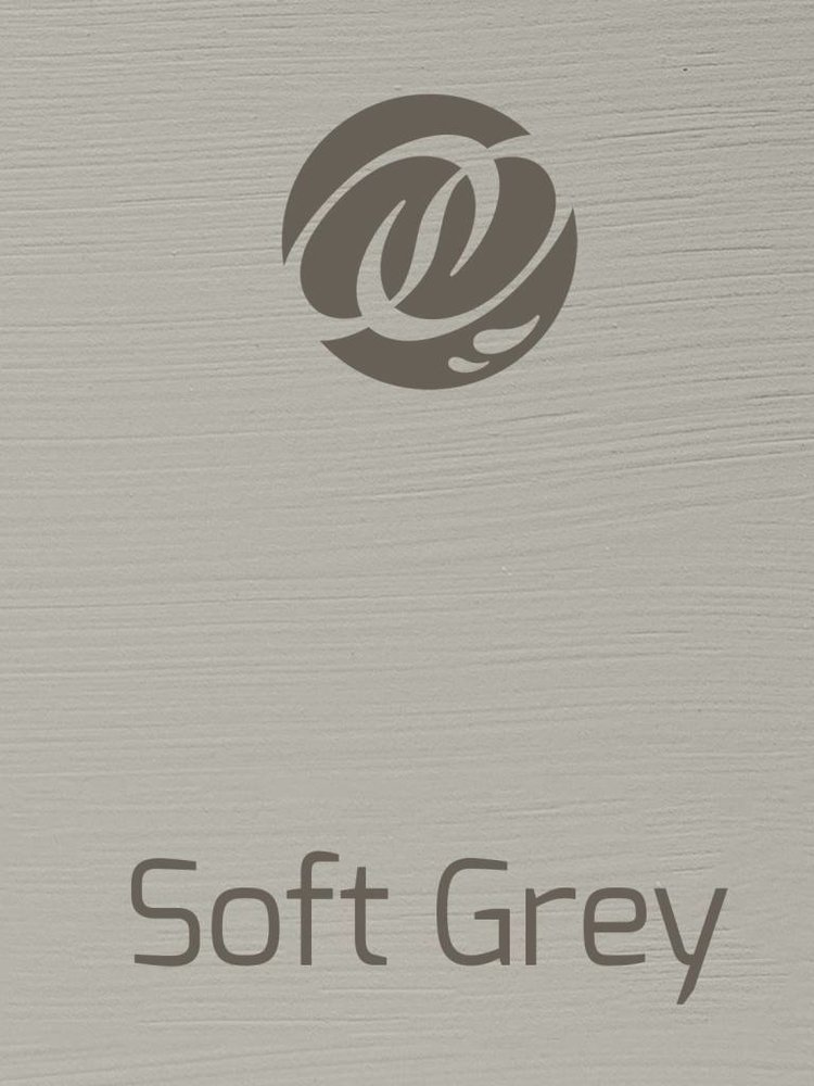 Versante, washable paint for inside and outside, color Soft Grey