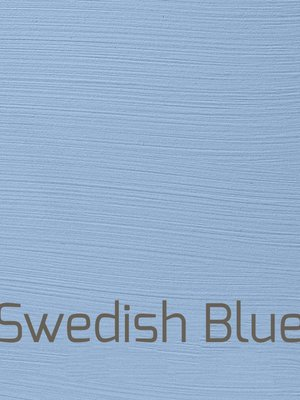 Fresh, washable paint for inside and outside, color Swedish Blue