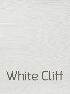 Autentico Versante, washable paint for inside and outside, color White Cliff