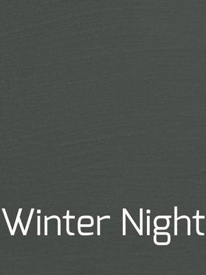 Autentico Versante, washable paint for inside and outside, color Winter Night