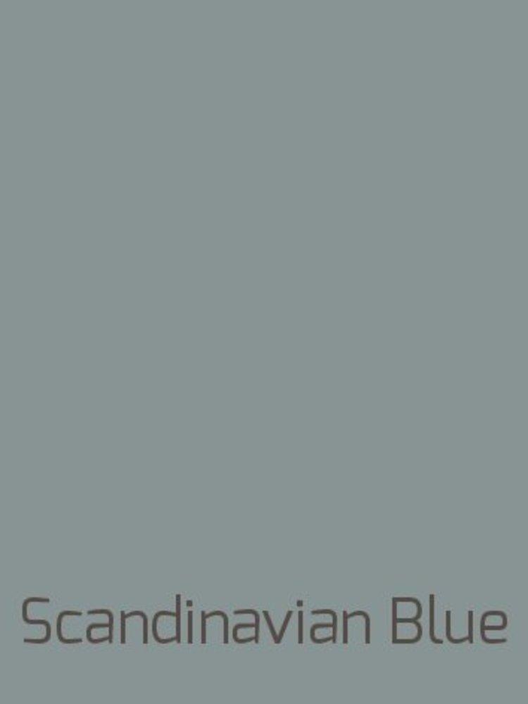 Venice lime paint, color Scandinavian Blue