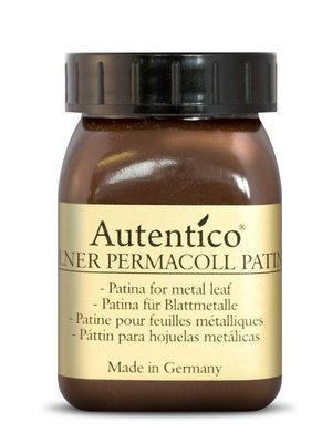 Patina for leafing/gilding, brown 100 ml