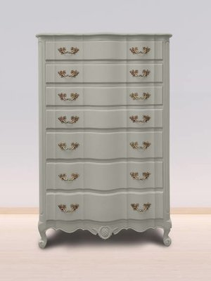 Autentico Vintage furniture paint, color Soft Grey