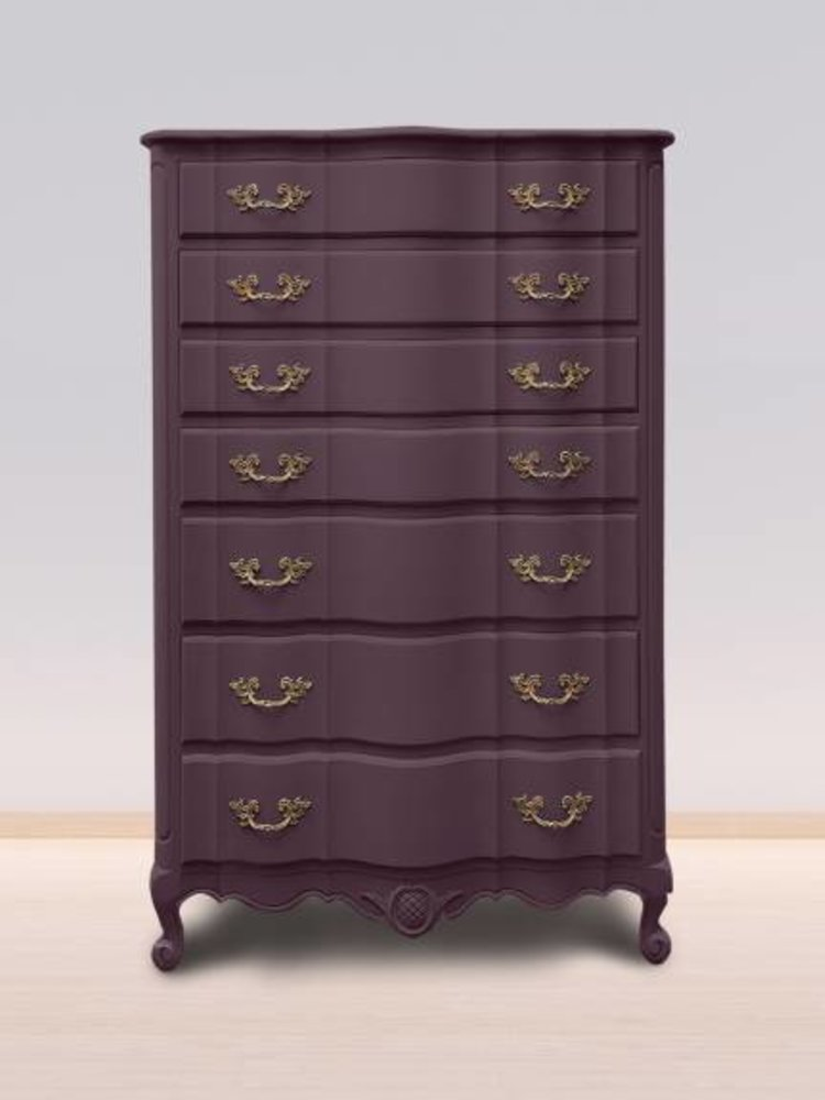 Autentico Vintage furniture paint, color  Plum