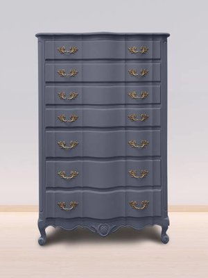 Autentico Vintage furniture paint, color  Pavot Bleu
