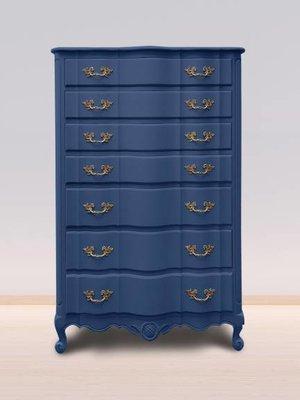 Autentico Vintage furniture paint, color  Nordic Blue