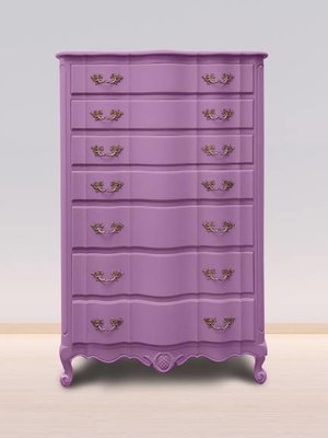 Autentico Vintage furniture paint, color  Heliotrope