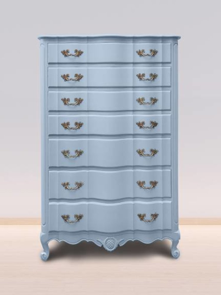 Autentico Vintage furniture paint, color  Gustavian Blue