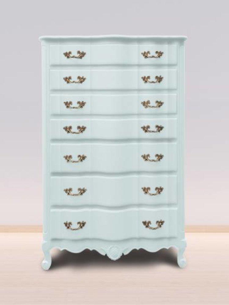Autentico Vintage furniture paint, color  Dusty Miller