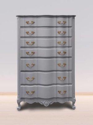 Autentico Vintage furniture paint, color Castle Grey