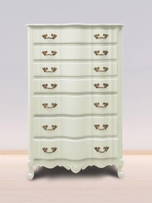 Autentico Vintage furniture paint, color  Corfu White