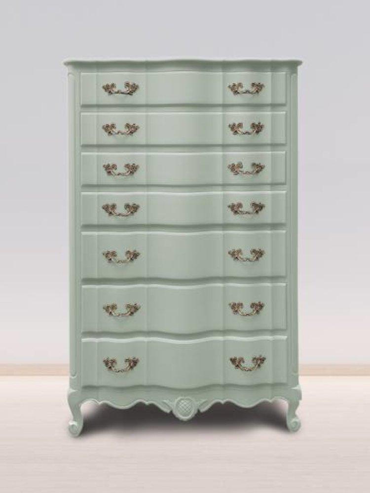 Autentico Vintage furniture paint, color  Copenhagen Green