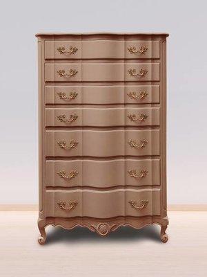 Autentico Vintage furniture paint, color Burnt Sienna