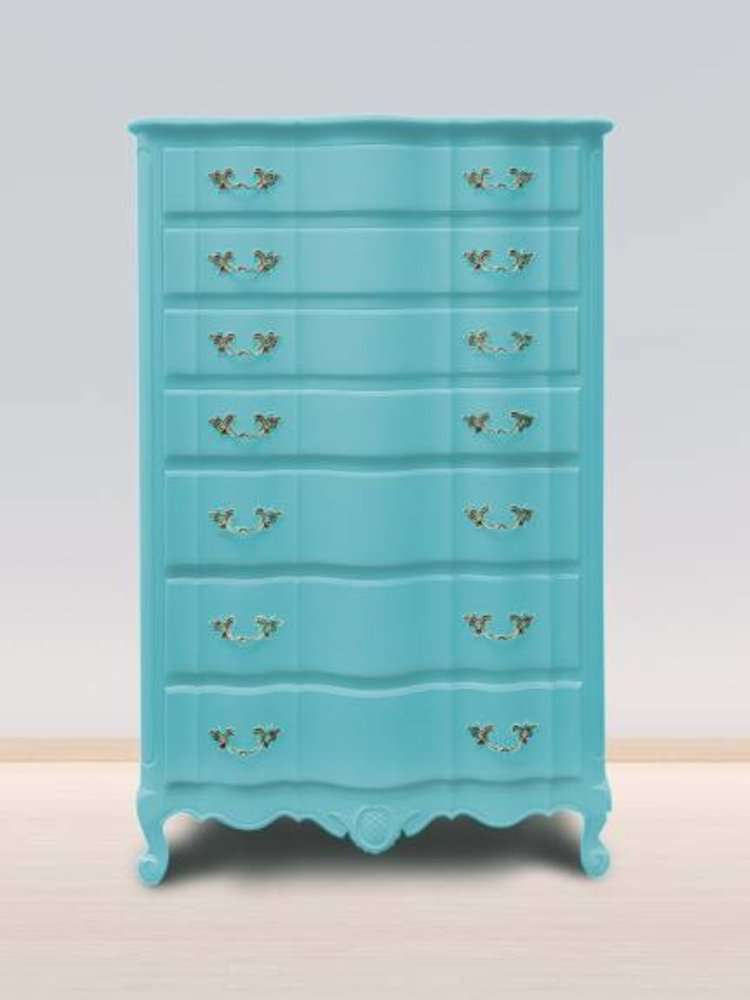 Autentico Vintage furniture paint, color  Bright Turquoise