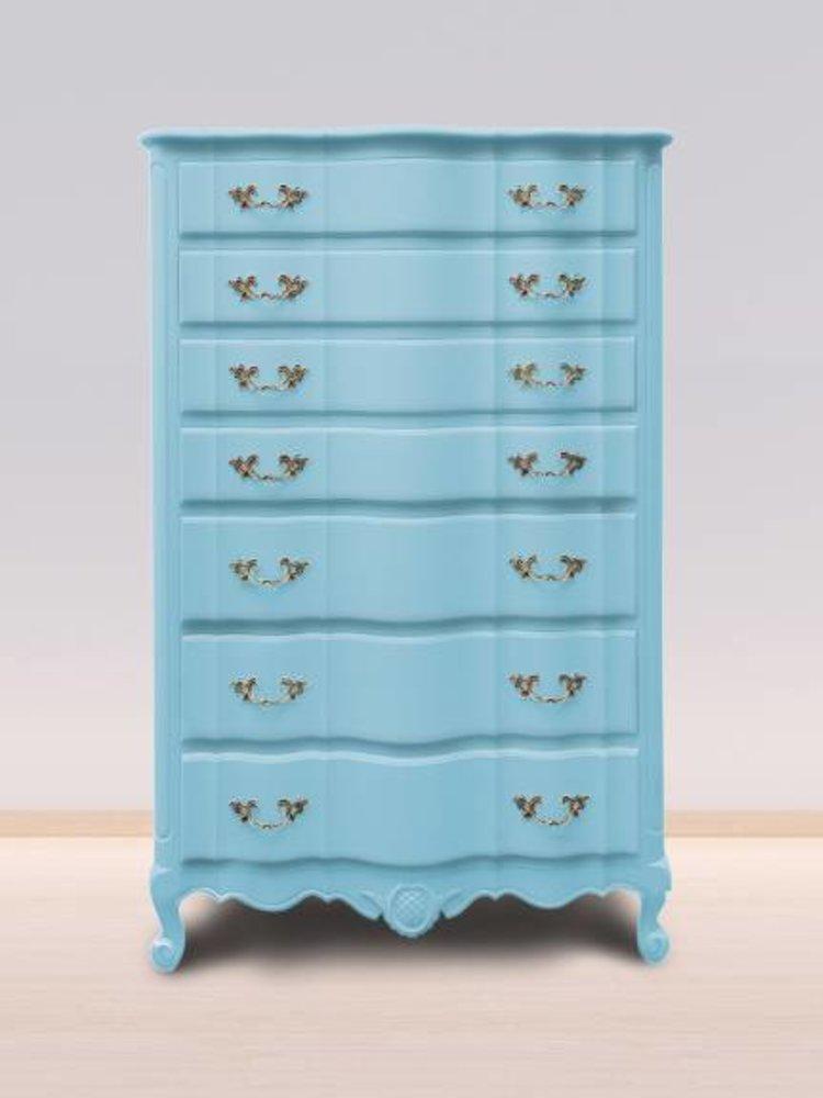 Autentico Vintage furniture paint, color  Bleu Clair