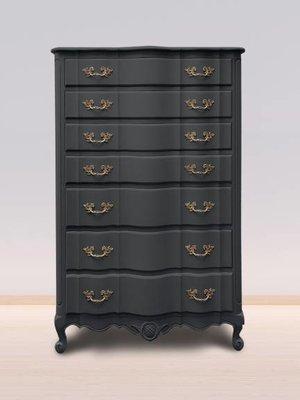 Autentico Vintage furniture paint, color  Nearly Black