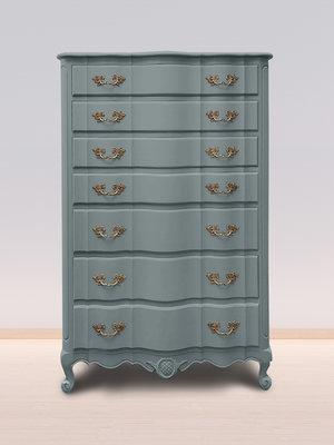 Versatile, washable paint for inside and outside, color Nautique