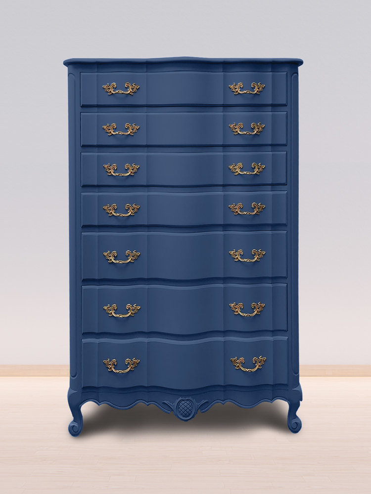 Versatile, washable paint for inside and outside, color Nordic Blue