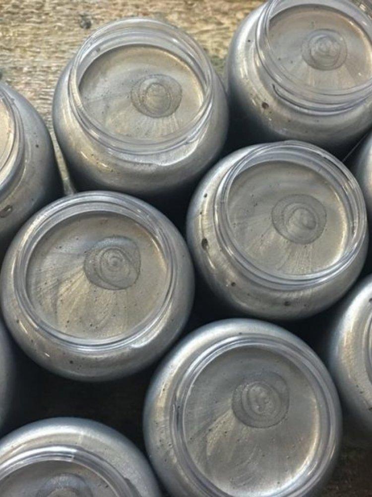 Silver Pearl Metallic Paint