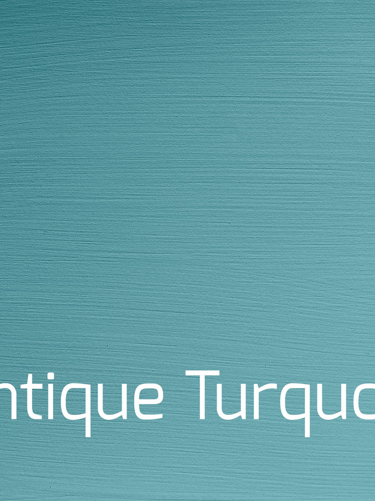 Versatile, washable paint for inside and outside, color Antique Turquoise