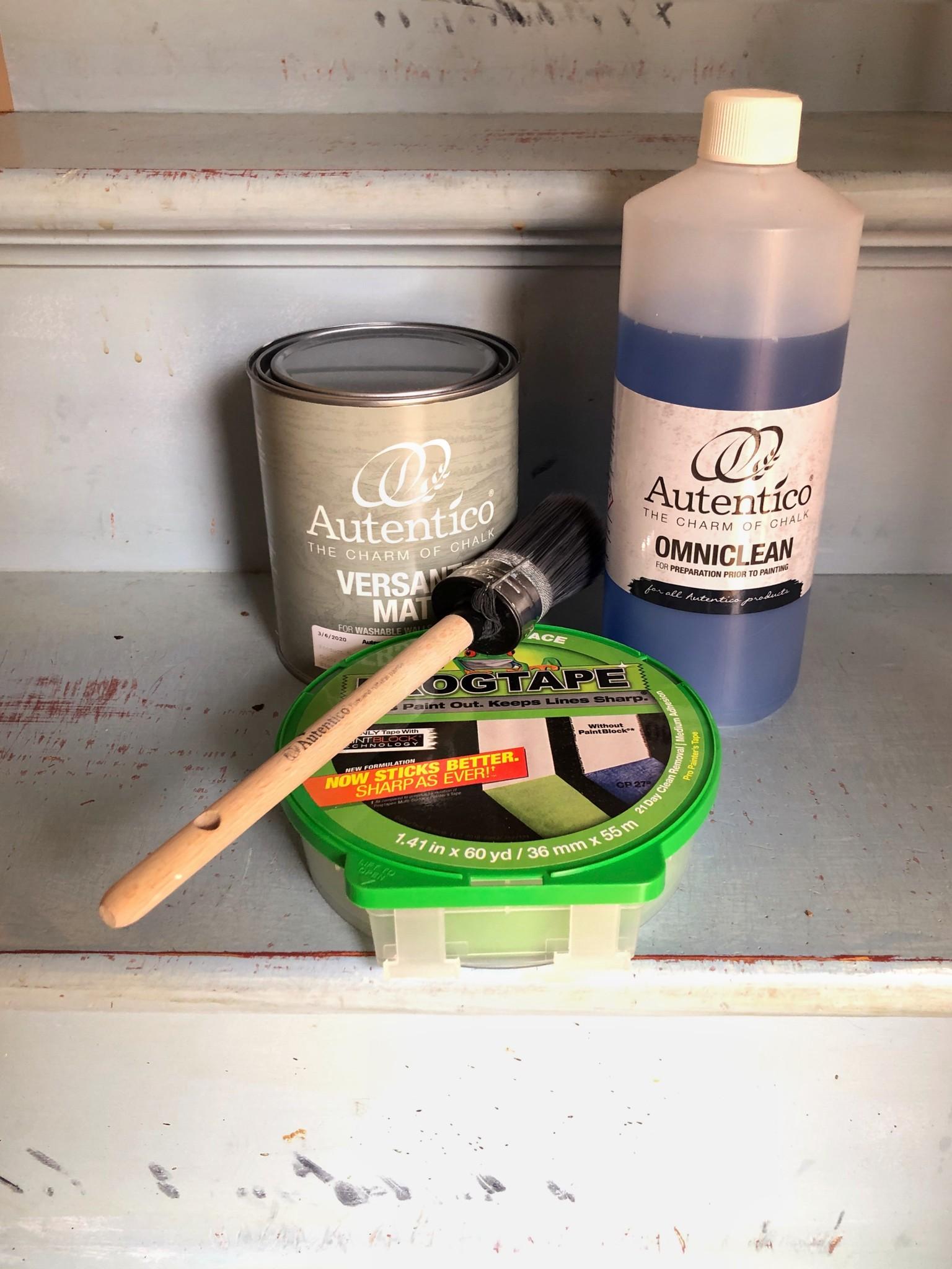 Onmiclean, Frog Tape, 35mm brush