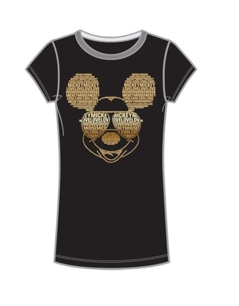 Jerry Leigh MICKEY TEXT JUNIOR BABY TEE