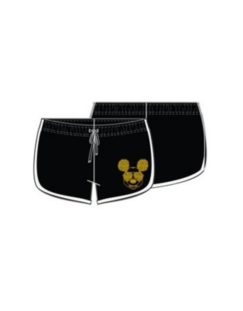 Jerry Leigh MICKEY TEXT FRENCH TERRY SHORT