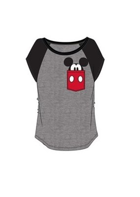 Jerry Leigh POCKET SIZE MICKEY KIDS TEE