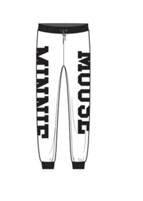 Jerry Leigh MINNIE MOUSE VARSITY SWEATPANTS