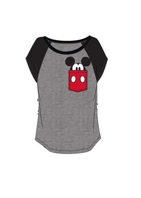 Jerry Leigh POCKET SIZE MICKEY JUNIOR TEE