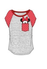 Jerry Leigh POCKET SIZE MINNIE JUNIOR TEE