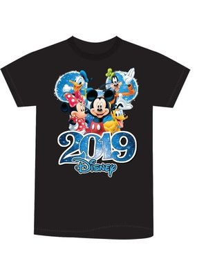 Jerry Leigh BLACK 2019 FABULOUS KIDS TEE