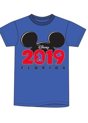 Jerry Leigh FL 2019 MICKEY SILO S/S ADULT TEE