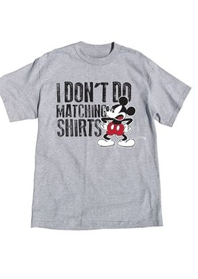 Jerry Leigh DON'T MATCH ADULT TEE