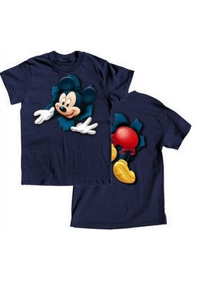 Jerry Leigh POP OUT MICKEY KIDS TEE